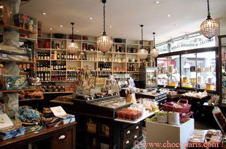 Chocolate shop. Like the shelving. | Shop interiors | Pinterest ...