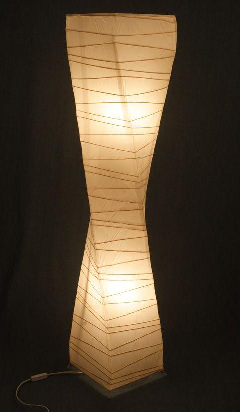 Paper Floor Lamp Too For Bedroom