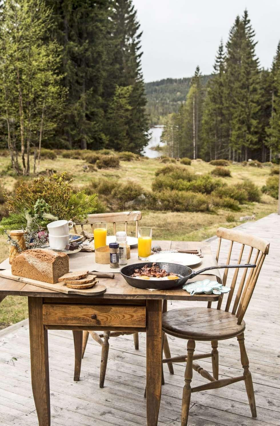 Gar Til Hytta Pa En Halvtime Outdoor Furniture Sets Outdoor