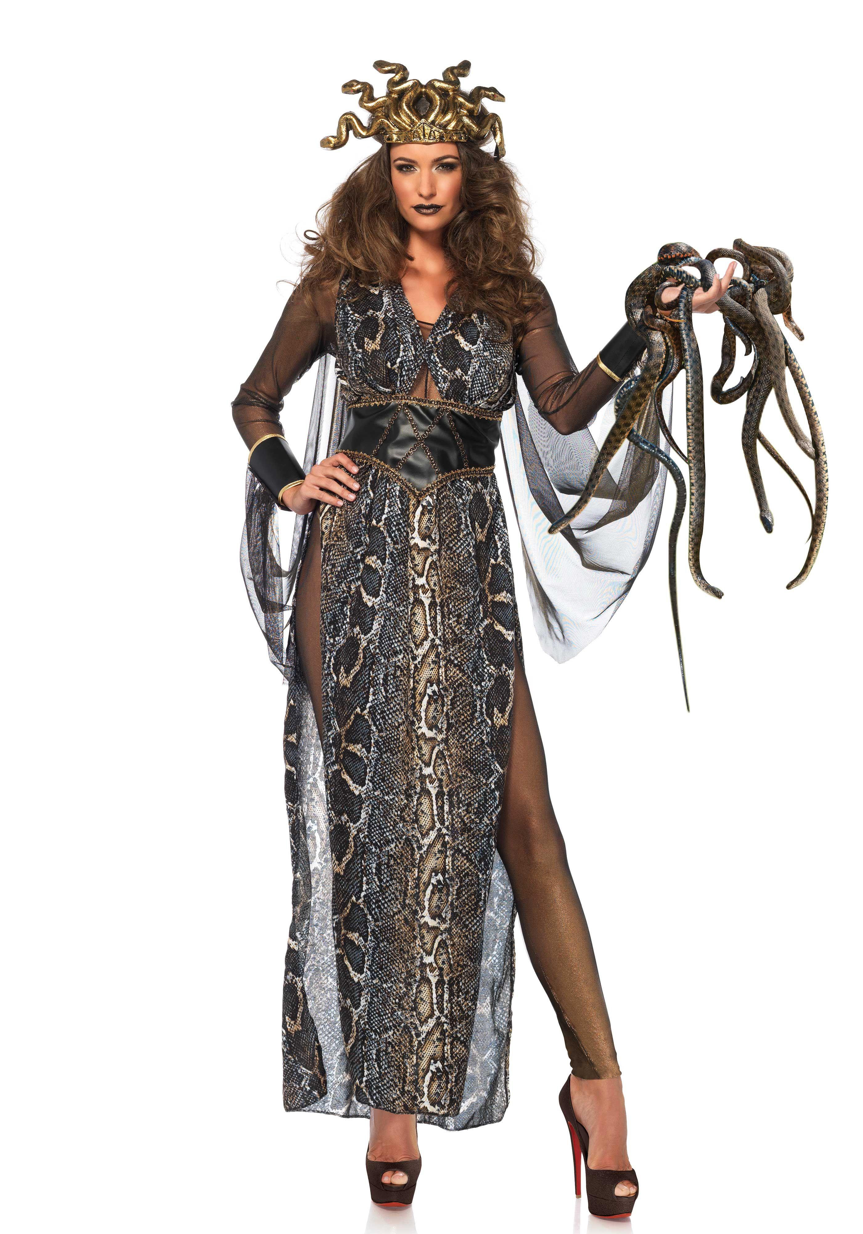 Leg Avenue 86654 Medusa Costume Dress Up #Halloween #Villain #Snake  sc 1 st  Pinterest & Leg Avenue 86654 Medusa Costume Dress Up #Halloween #Villain #Snake ...