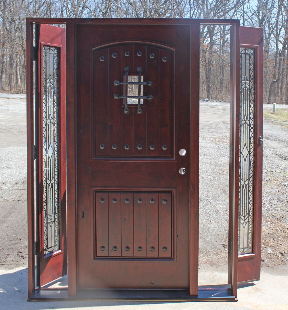 Front door with sidelites m6410 103010 ct 4irh the home depot - Find This Pin And More On Doors