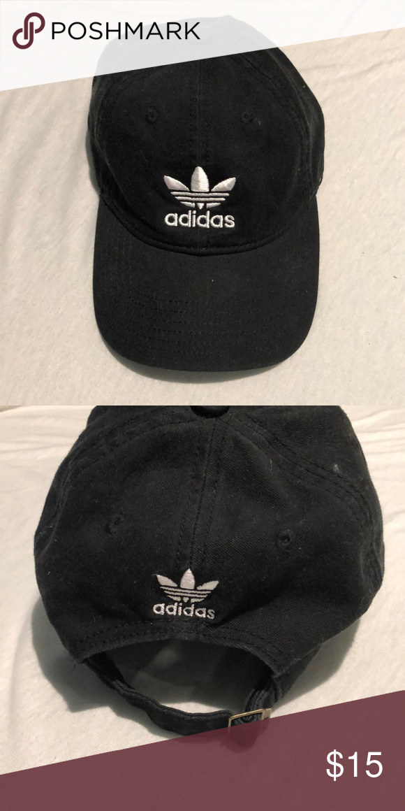 ADIDAS ORIGINALS PRECURVED WASHED STRAPBACK HAT Brand new without tag. Has  never been worn. 976c8bd833e4