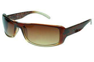 Ray Ban Jackie Ohh RB4216 Sunglasses Dark Brown Frame Tawny Lens