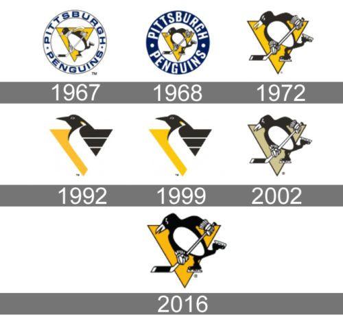 Pittsburgh Penguins Logo history | Hockey logos | Penguin ...