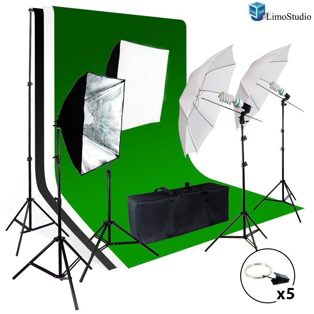 Limostudio Photo Video Studio Light Kit