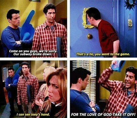 Dang it Joey!