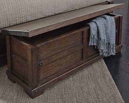 Zenfield Bedroom Bench By Ashley Homestore Brown Bedroom Bench Furniture Stylish Bedroom Furniture