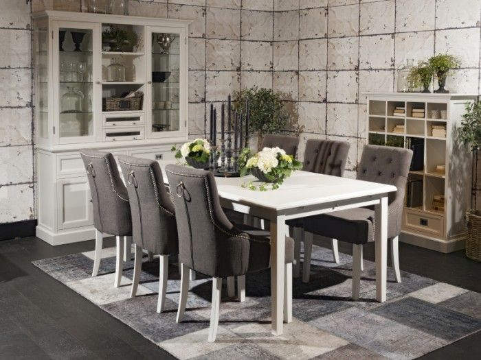 Stilig spisebord m/6 stoler - ROWICO AB - Koster - Møbelringen | Interiør FN-54