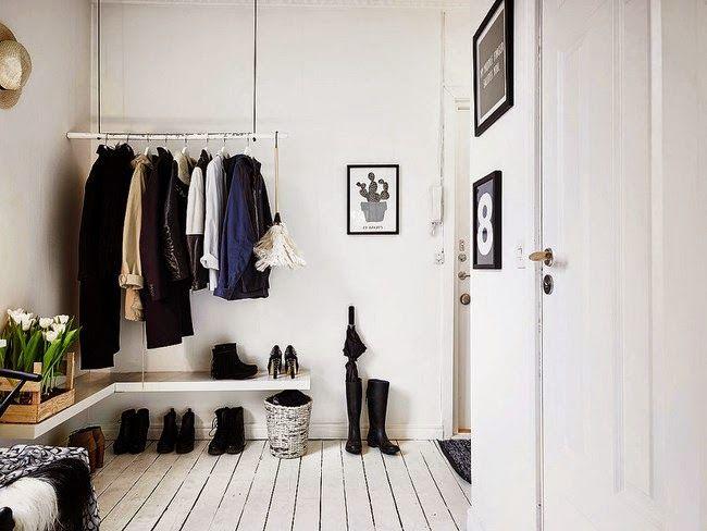 Consigue un estilo romántico, cálido y acogedor nórdico en blanco y negro | Decoración