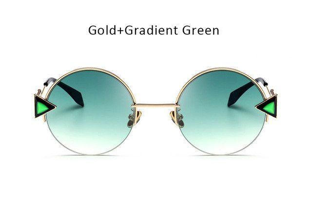 4e20adc1d4247 Womens  Dapper  Round Circle Retro Cat Eye Sunglasses Astroshadez ...