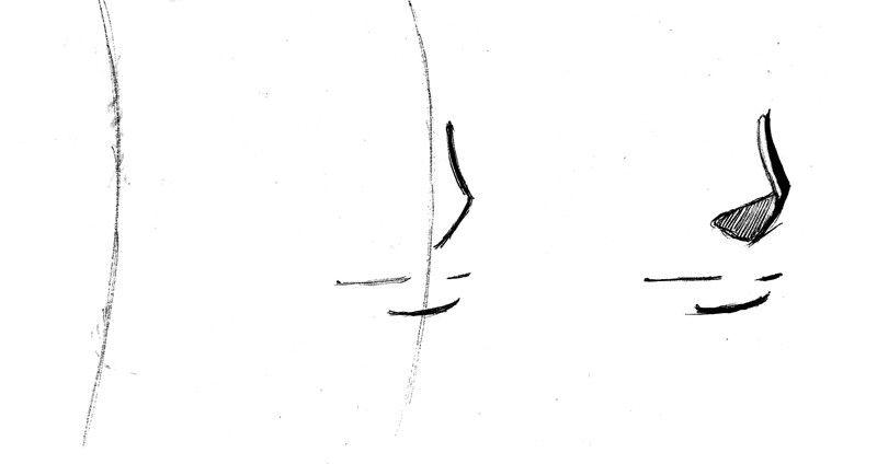 dessin manga nez