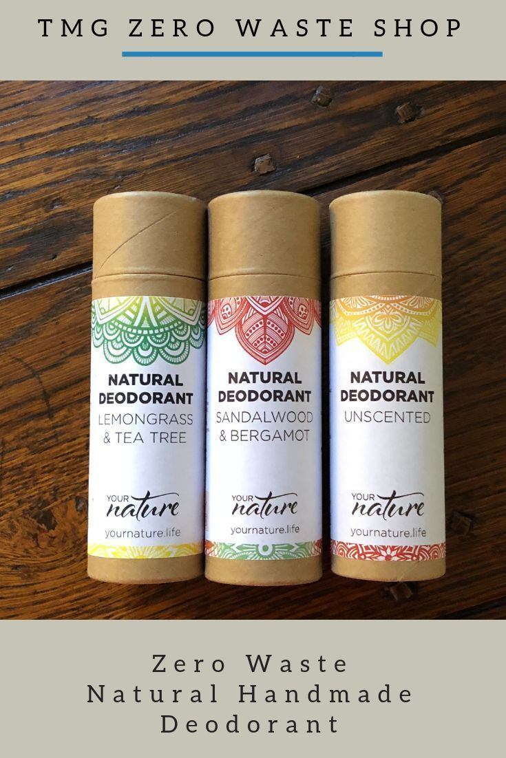 100 Handcrafted in UK Natural Deodorant Zero waste