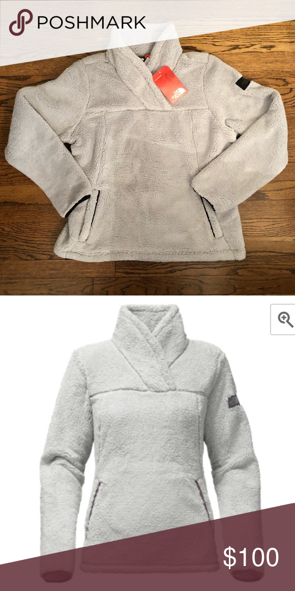 5d0cf9a7a NWT North Face Women's Campshire Pullover Fleece Made from high-pile ...