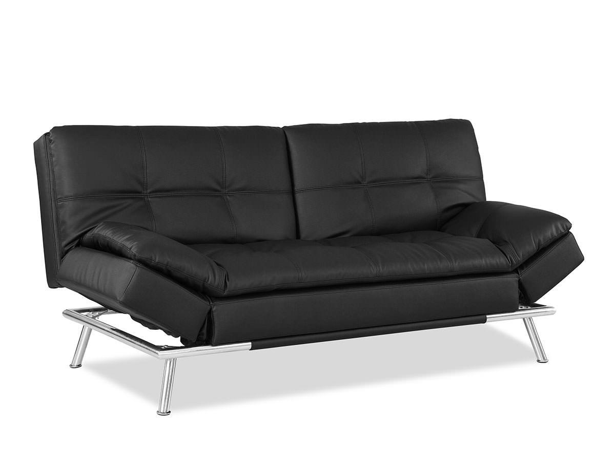 Awe Inspiring Matrix Convertible Sofa Bed Black By Lifestyle Solutions Beatyapartments Chair Design Images Beatyapartmentscom