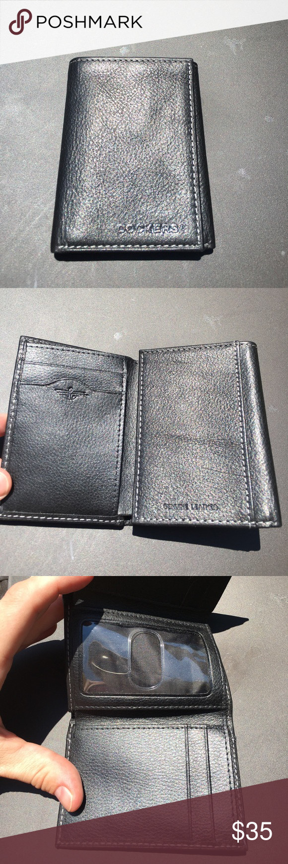 Brand new Dockers wallet, genuine leather Brand new