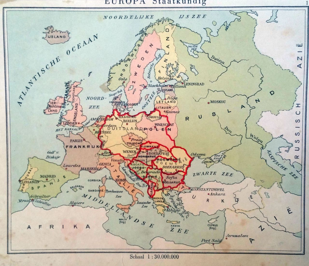 map of europe in 1940s Pin on Maps