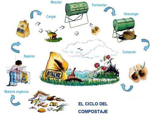 El Ciclo Del Compostaje Compost Casero Compost Compostaje