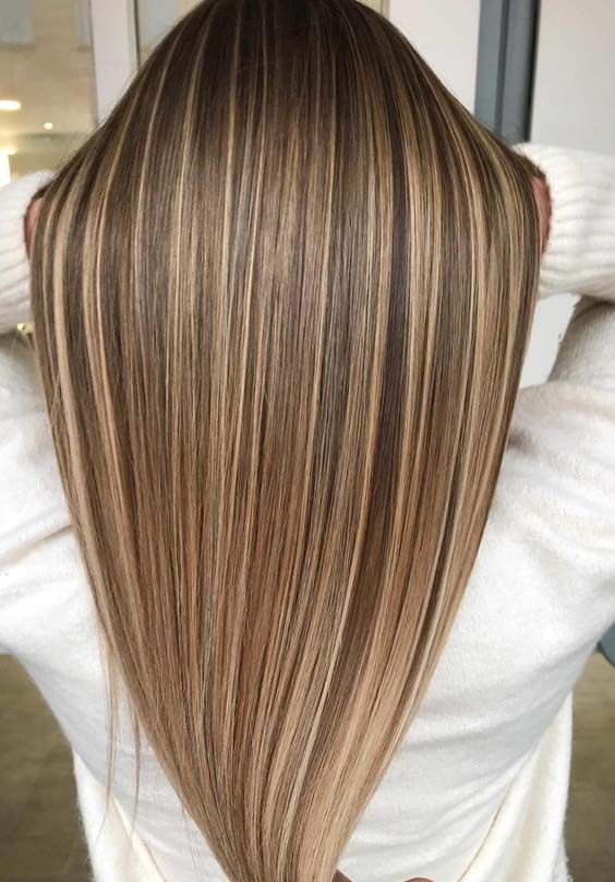 60 Perfect Dimensions Of Long Straight Hairstyles In 2018 Straight Hair Highlights Long