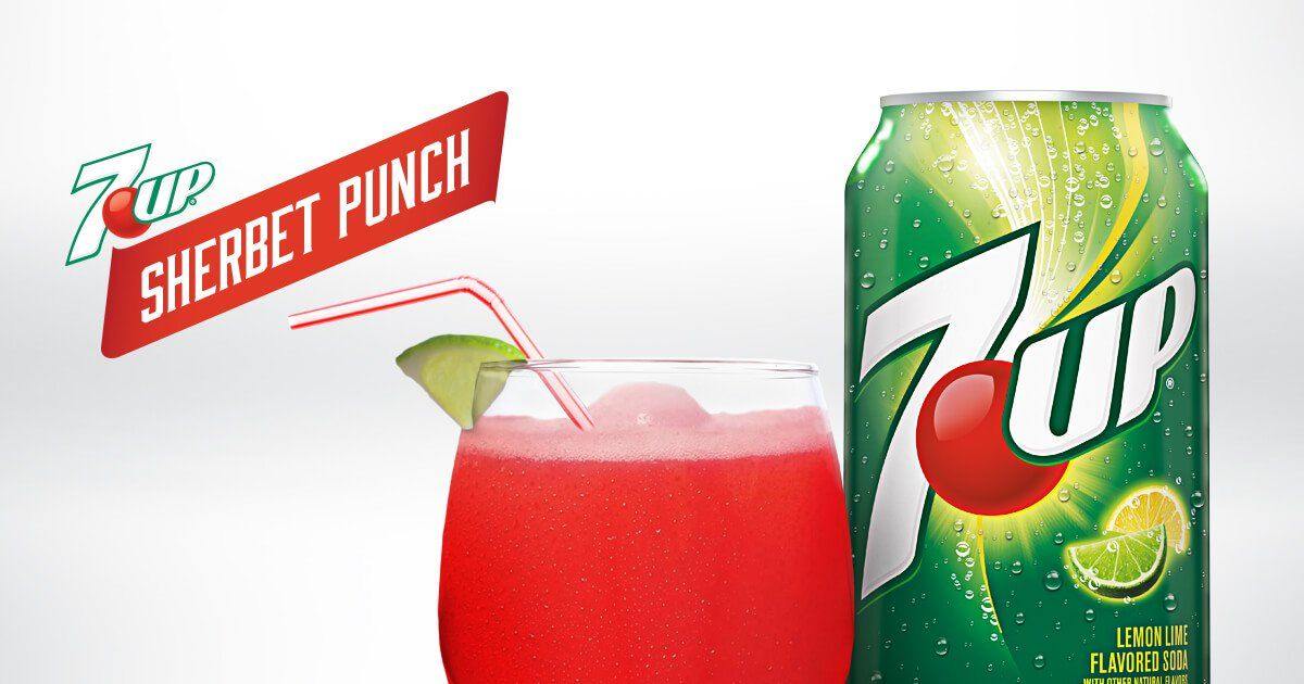 7up sherbet punch recipe with images sherbet punch