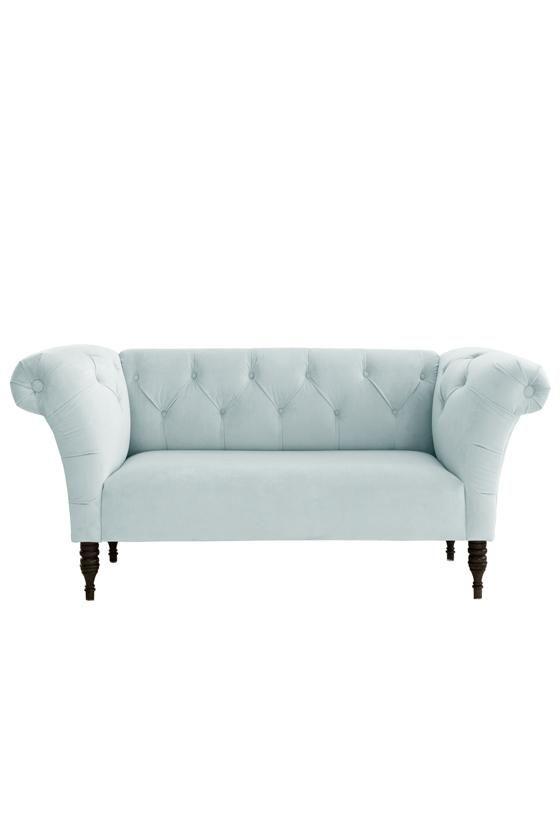 Tufted Roll Arm Chaise - Chaise Lounges - Living Room - Furniture | HomeDecorators.com