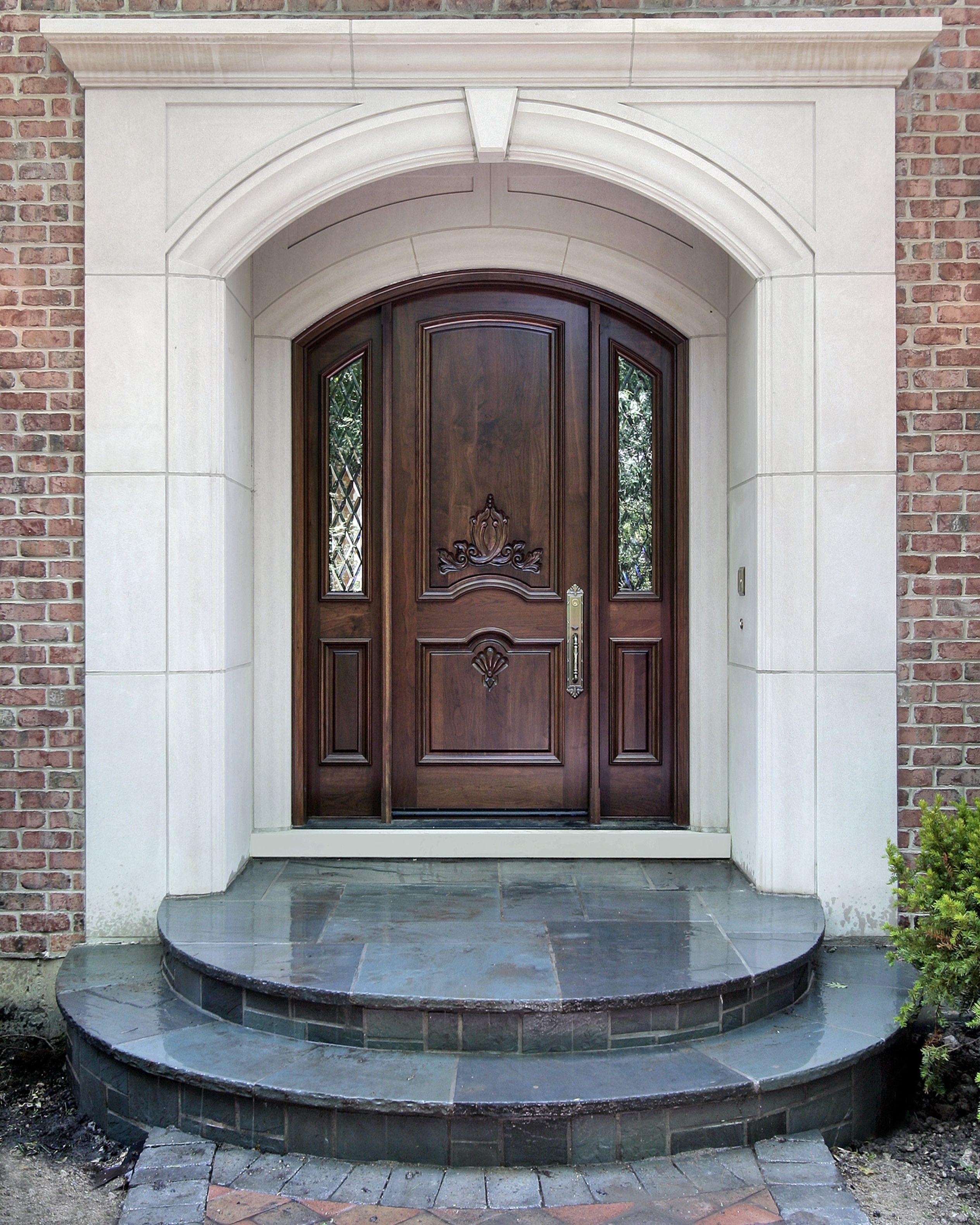 Cast Stone Door Surround Precast Door Surrounds Gfrc Cornices Keystone Entrance Design House Entrance Doors Main Door Design Front Door Design