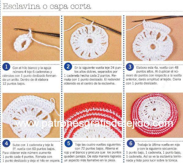 Angelitos à Crochet / Etape par étape | Deux aiguilles et crochet ...
