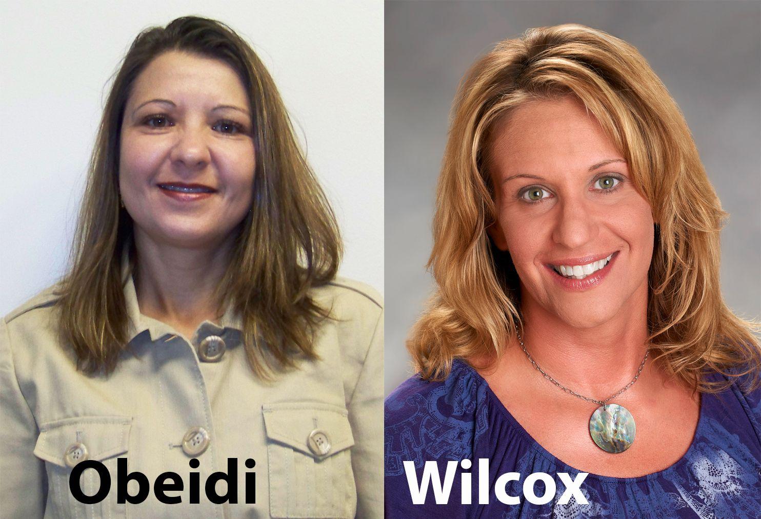 Dr fida obeidi chemistry faculty member and heather