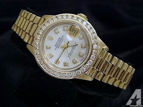 Rolex Datejust President Diamond Watch