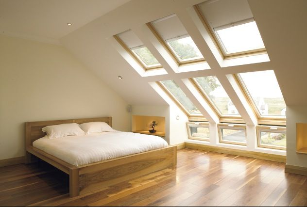 Floor to ceiling skylights!!!!!