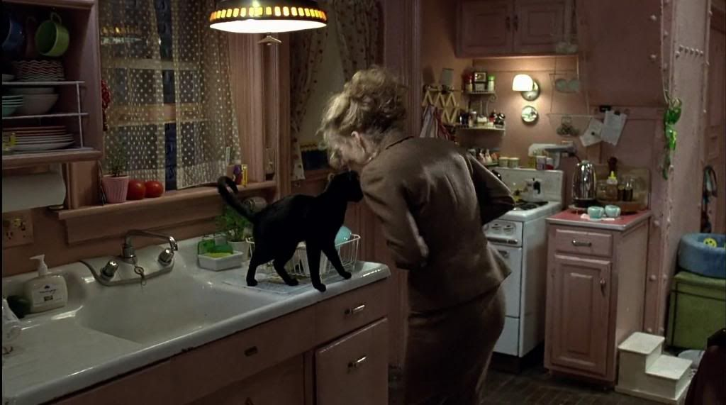 Selena Kyle's Vintage Retro Pink Kitchen In Her Super Femme Dainty Rhpinterest: Batman Kitchen At Home Improvement Advice
