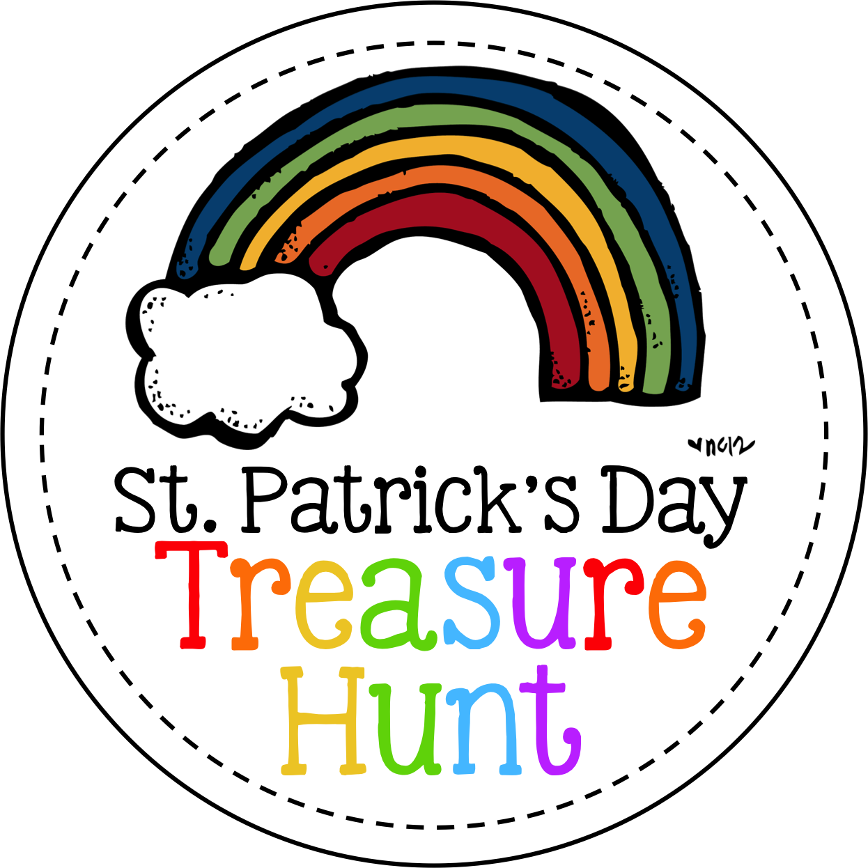 St Pat S Treasure Hunt Freebie A Cupcake For The