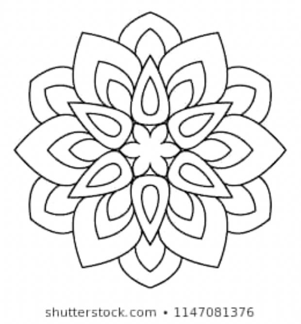 24++ Beginner simple easy mandala coloring pages ideas