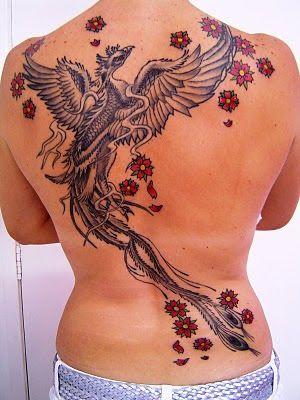 foto tatuagem fenix feminina - Pesquisa Google