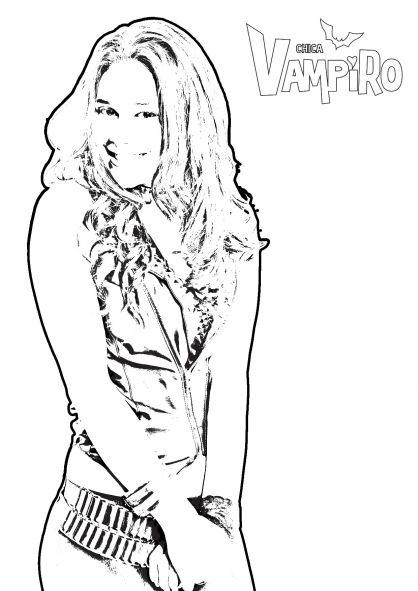 desenhos para colorir de daisy chica vampiro
