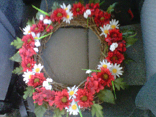 CraftyLiz Creations: Wreath $45