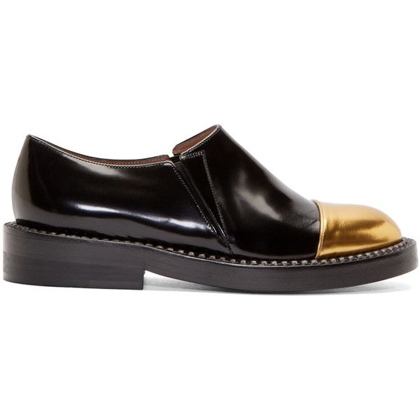 Marni Patent Leather Round-Toe Loafers limited edition online 2H6aC