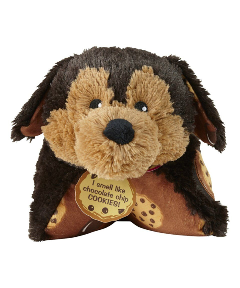 Pillow Pets Chocolate Chip Cookie Scented Pup Pillow Pet Animal