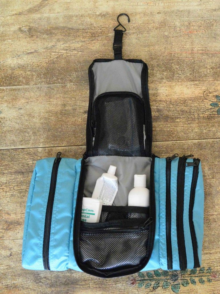 5d6bf1b88f eBags Pack it Flat toiletry kit. This useful toiletry kit is great for  keeping your toothpaste