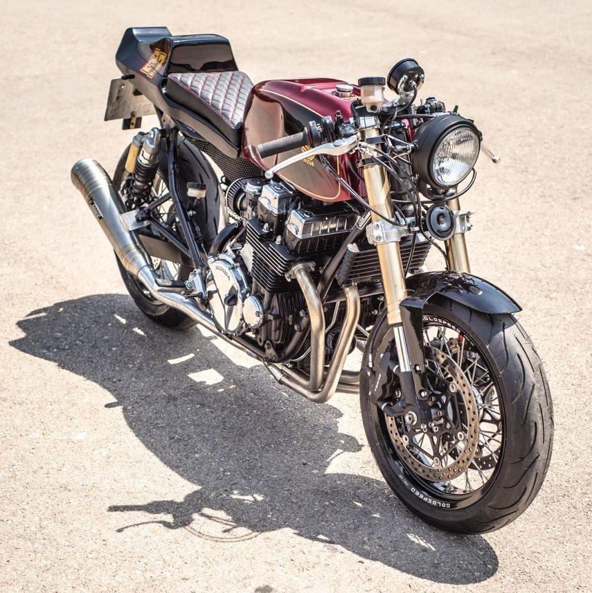 Honda CB750 Nighthawk Cafe Racer By Nitro Cycles