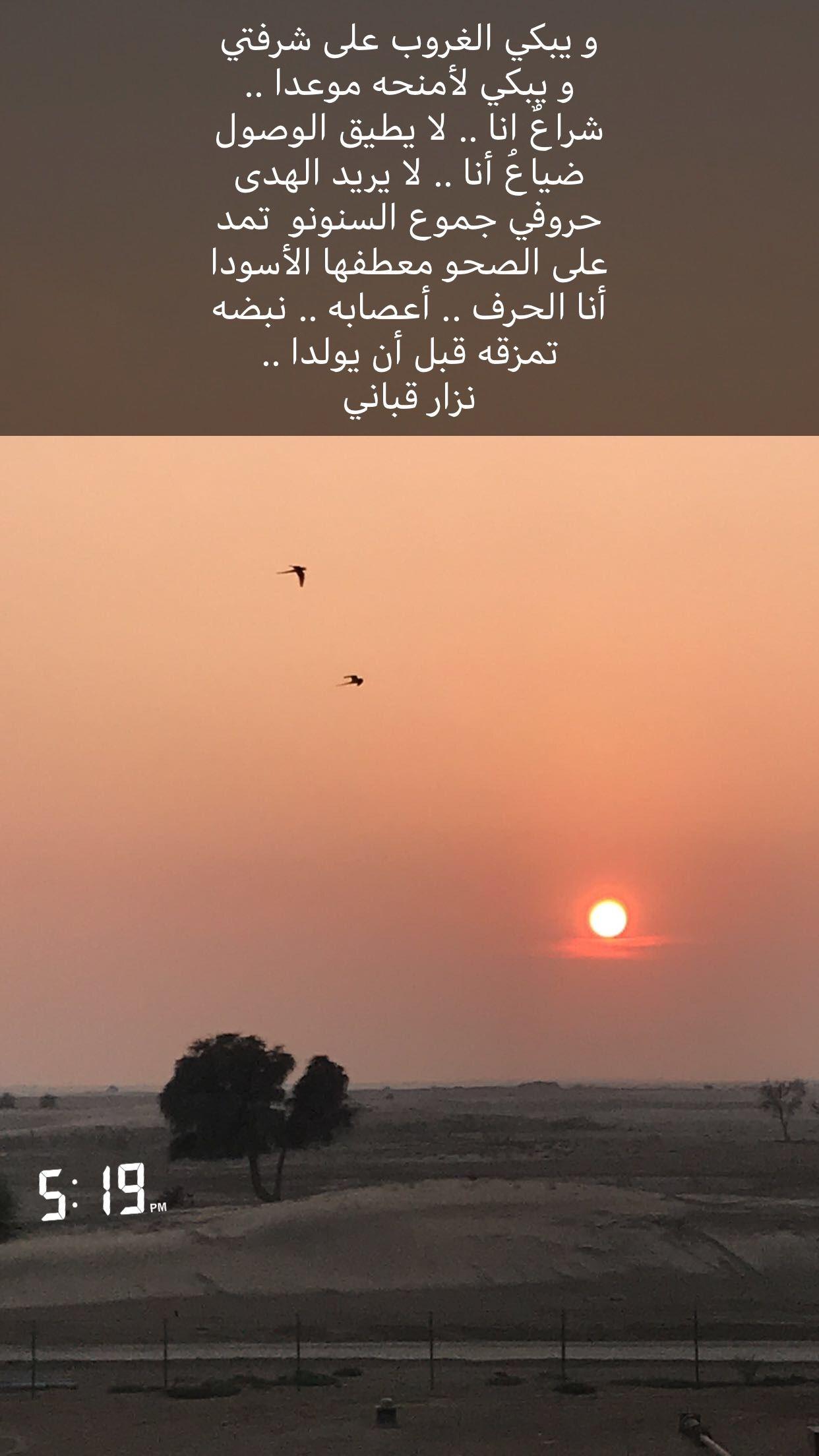 حافية القدمين في الصحراء امشي وارفرف بجناحي نحو الغياب وأبكي طير لا أشبه ولا يشبهني احد Iwo Arabic Quotes Poster