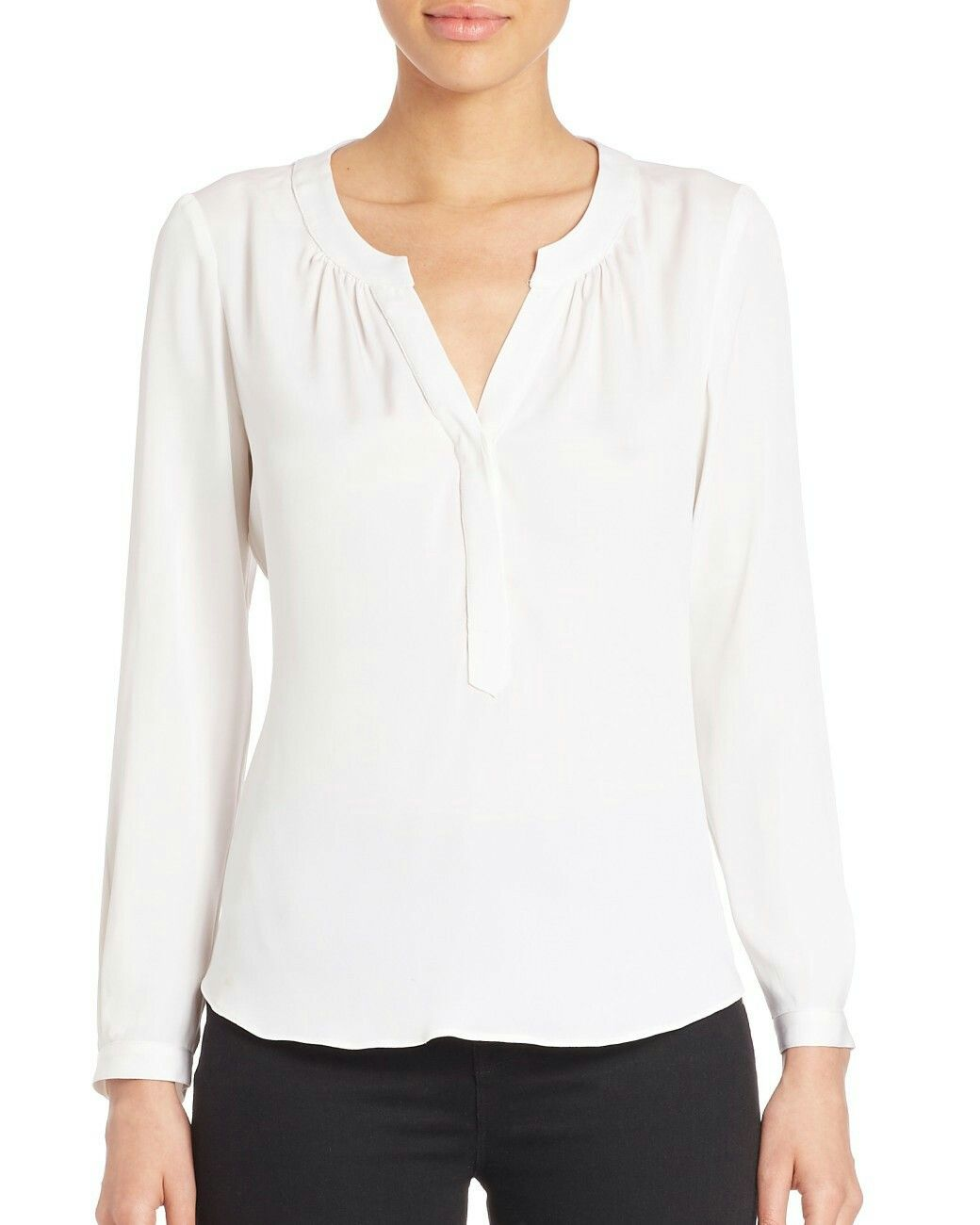 6b2ff2fd6ed5c Silk blouse Tessa by Rebecca Taylor