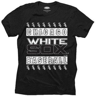 Majestic Threads Chicago White Sox Black Tri-Blend T-Shirt  Size XXL