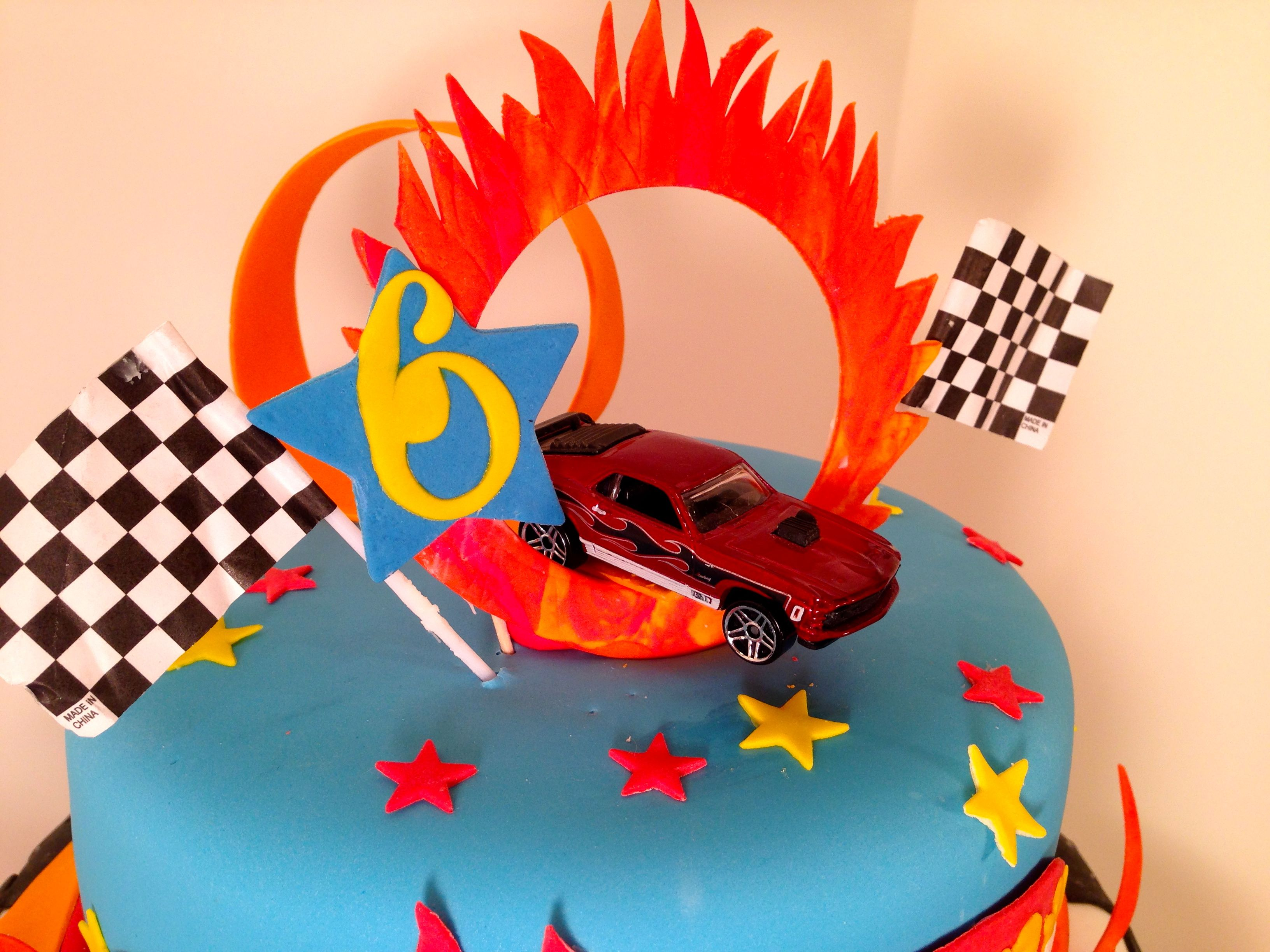 Cakes By Kirsten Hotwheels Inspired Ring Of Fire And
