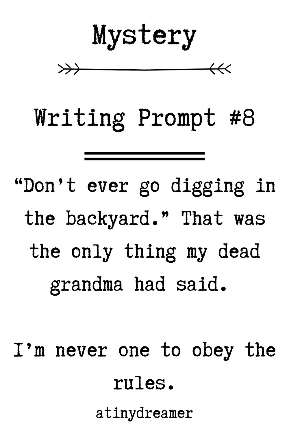 32 Intriguing Mystery Story Prompts
