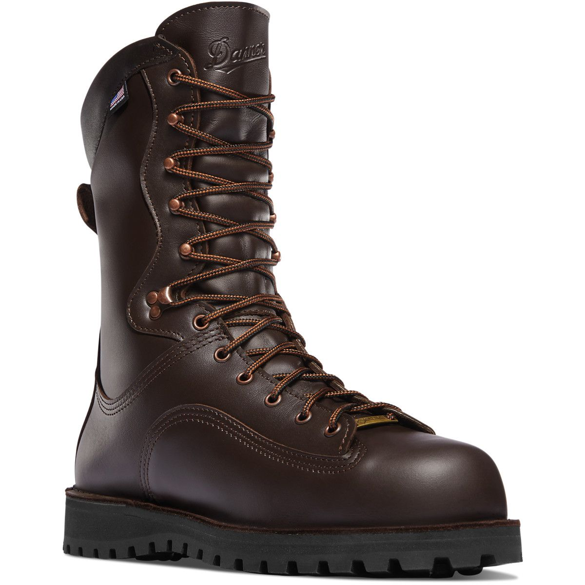 "Trophy 10"" Brown 600G Boots, Safety toe boots, Hunting boots"