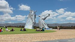 The Helix (home of the Grangemouth Kelpies)