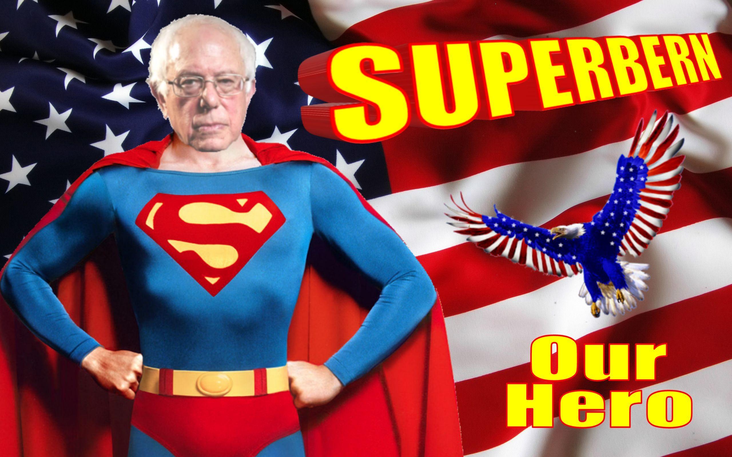 Bernie Sanders Superman Superman Hero That S What She Said