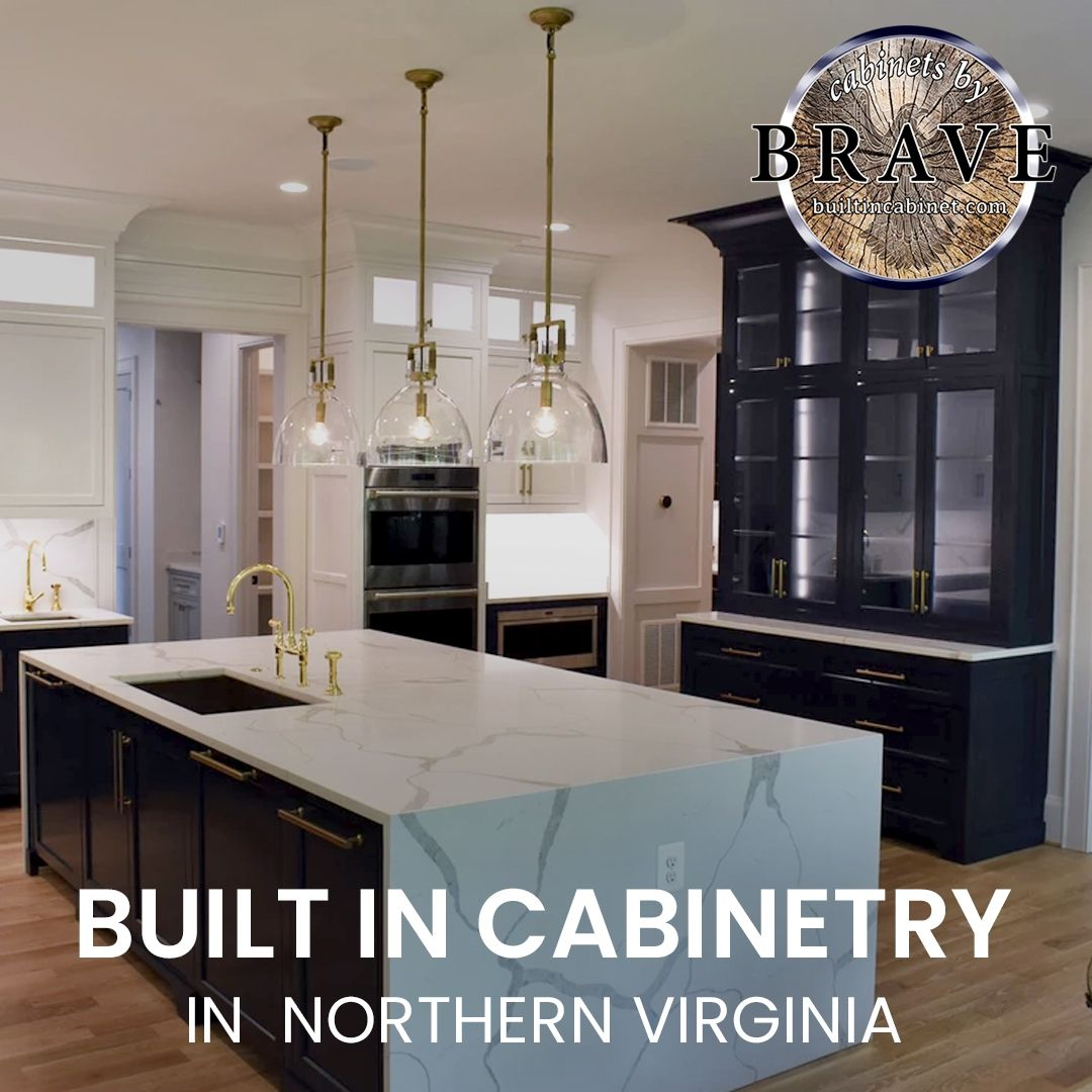 Built-in cabinetry in Northern Virginia is a great way to ...