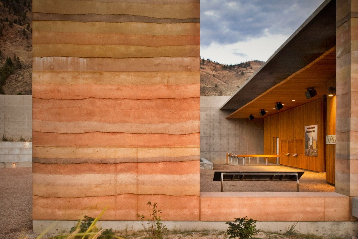 NK'Mip Desert Cultural Centre | SIREWALL | Structural Insulated Rammed Earth