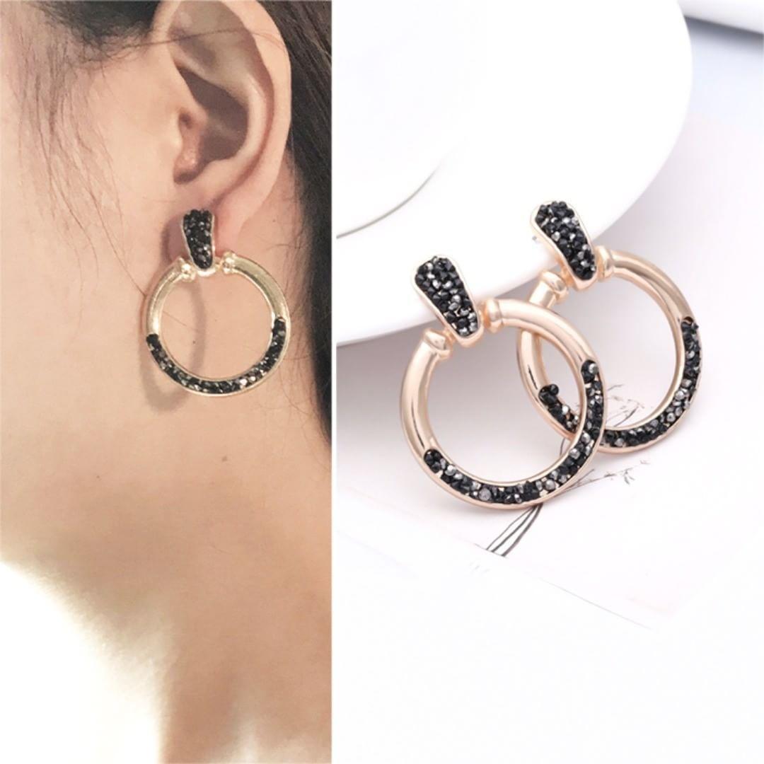 136bcd4503e05 Hoop Earrings - 50 Cute Hoop Earrings Ideas for Women | Stylish ...
